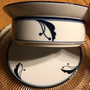 Dansk Bayberry Set: Trivet and Serving Bowl